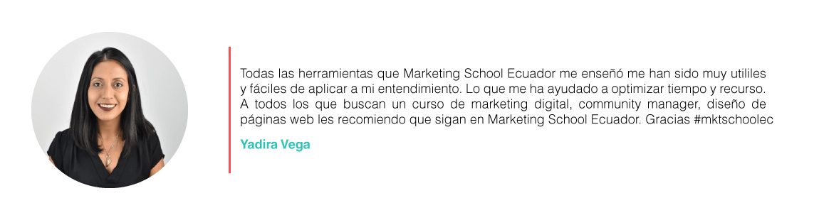 marketing school ecuador