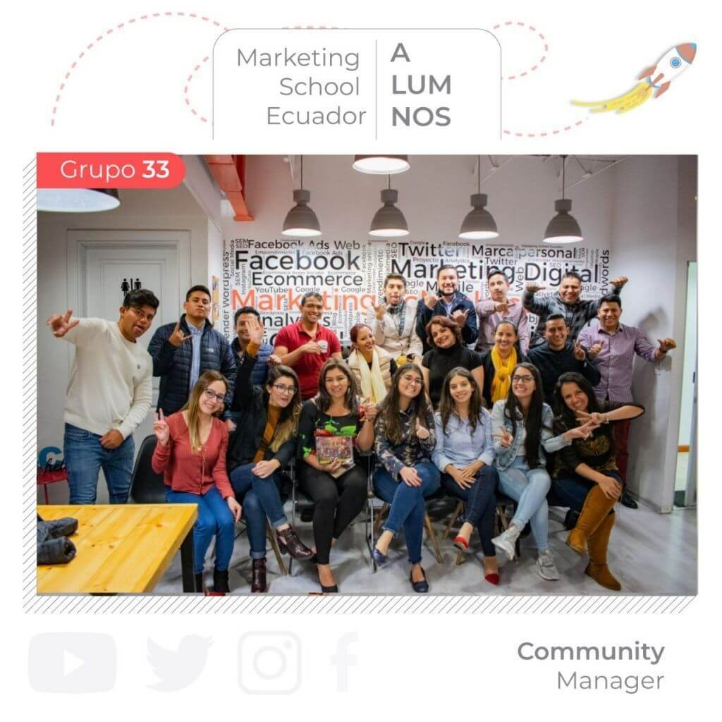 Curso de community manager capacitación de marketing digital en quito